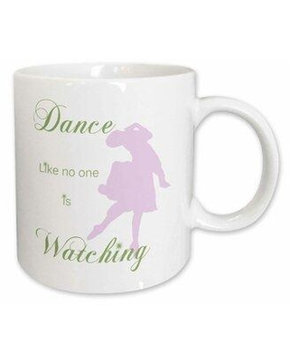 Don T Miss Sales On East Urban Home Dance Like No One Is Watching Coffee Mug Ceramic In White Size 3 H X 3 W X 4 D Wayfair 8baf45df3d95455698d2fe49db882c43