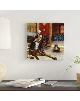 """East Urban Home 'The Musical Guard' Graphic Art Print on Canvas EBHV1958 Size: 26"""" H x 26"""" W x 1.5"""" D"""