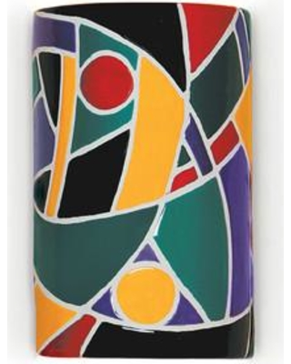 A19 Mosaic Picasso 1-Light Wall Sconce M20303 Finish: Multicolor Bulb Type: Incandescent Wet Location Compatible: No