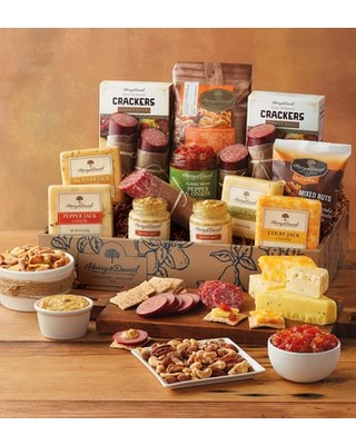 Ultimate Meat Cheese Gift Box By Harry David