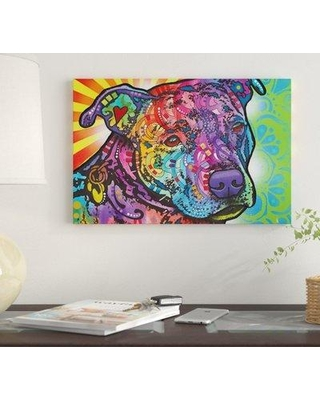 """East Urban Home 'Bella II' by Dean Russo Graphic Art Print on Wrapped Canvas EUME3941 Size: 40"""" x 60"""" x 1.5"""""""