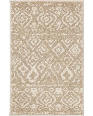 Home Decorators Collection Tribal Essence Beige 3 ft. x 5 ft. Area Rug