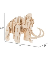 3D Wooden Woolly Mammoth Puzzle By Hey Play - Open Misce