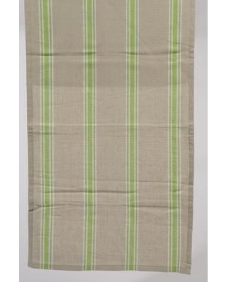 Northlight Naturelle Terreuse Striped Table Runner 313703 Color: Green