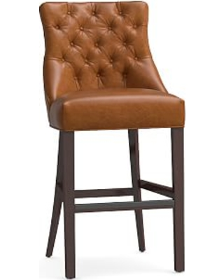New Bargains On Hayes Tufted Bar Height Bar Stool 4825 Leather