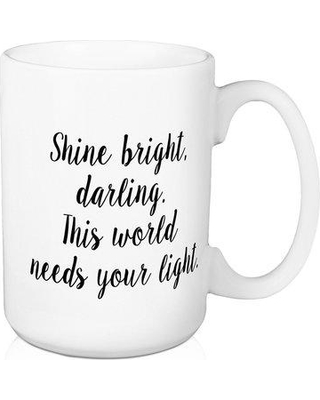 89299062038 New Bargains on Ebern Designs Sandbach Shine Bright Darling Coffee ...
