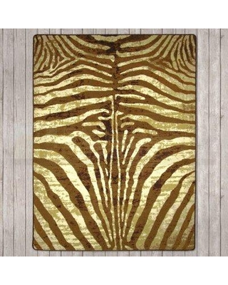 World Menagerie Blanquilla Senegal Caramel Area Rug 1321DSM3 Rug Size: Rectangle 4' x 5'