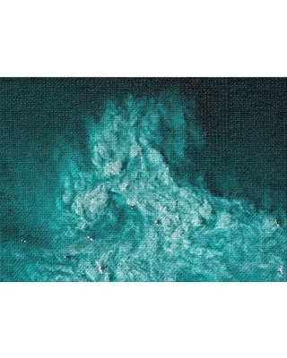 Portrait Style Photo 2 Green Area Rug East Urban Home Rug Size: Rectangle 2' x 4'