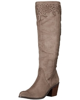 Not Rated Women's Maddie Riding Boot, 6.5 M US, taupe