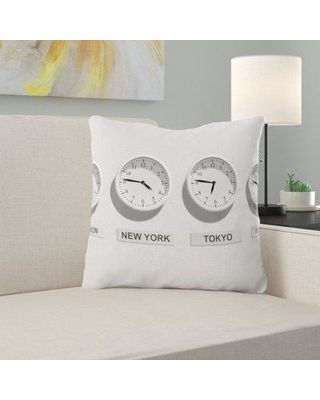 East Urban Home Business Throw Pillow W001005264