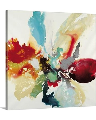 """Canvas On Demand 'Color Expression' by Randy Hibberd Painting Print on Canvas 2389243_24 Size: 20"""" H x 20"""" W x 1.25"""" D"""