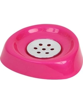 Evideco Bathroom Soap Dish 64181 Color: Fuchsia