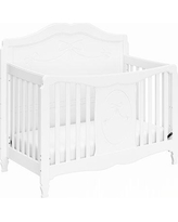 "Storkcraft Princess 4-in-1 Convertible Crib, Wood in White, Size 52""H X 57""W X 29""D 