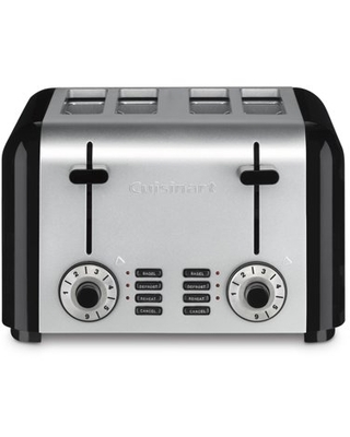 Cuisinart Toasters 4 Slice Compact Stainless Toaster