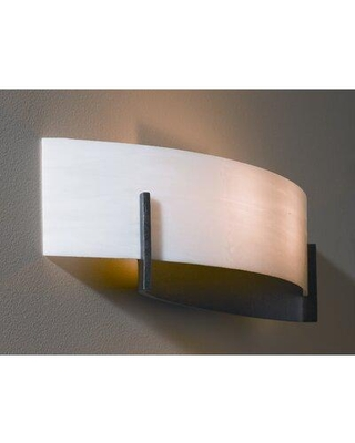 Find Deals On Hubbardton Forge Axis 1 Light Flush Mount Finish Black Shade Glass In Sand Size 4 H X 17 W Wayfair 206401 10 S324