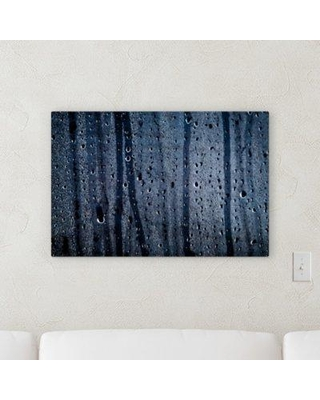 """Ebern Designs 'Abstract Point of View (136)' Graphic Art Print on Canvas BI100709 Size: 18"""" H x 24"""" W x 2"""" D"""