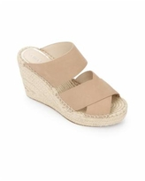 Kenneth Cole New York Women's Olivia X Band Espadrille Wedge Sandals - Sand