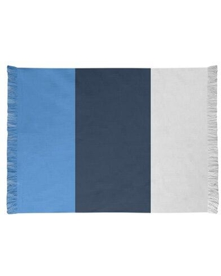 East Urban Home Tennessee Football Blue/Gray Area Rug FCJK0490 Backing: Yes