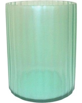"Bayou Breeze Babita Seaglass Cylinder Table Vase BBZE4449 Size: 8"" H x 7"" W x 7"" D"