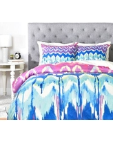 Deny Designs Holly Sharpe Summer Dreaming Duvet Cover 14055-duw Size: King, Fabric: Lightweight
