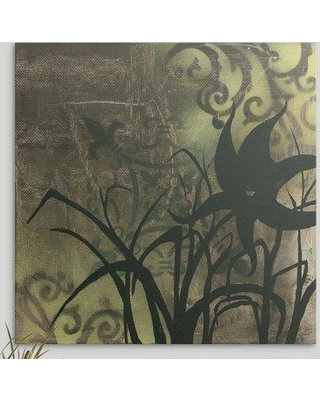 """Great Big Canvas 'Natures Whimsy' by Megan Duncanson Graphic Art Print 1162159 Size: 16"""" H x 16"""" W x 1.5"""" D Format: Canvas"""