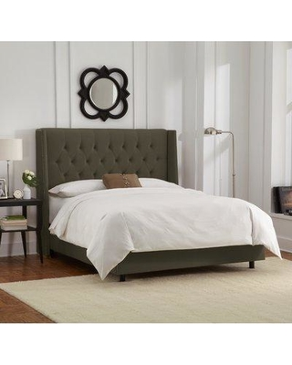 Willa Arlo Interiors Florine Upholstered Panel Bed WRLO6718 Size: King Color: Velve Pewter
