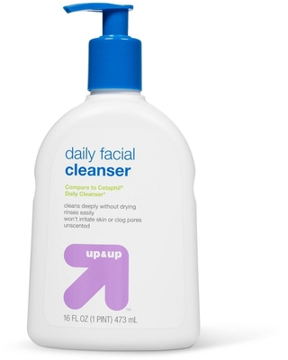 Daily Facial Cleanser - 16 fl oz - Up&Up