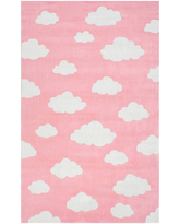 nuLoom Hand Tufted Cloudy Sachiko Rug, One Size , Pink
