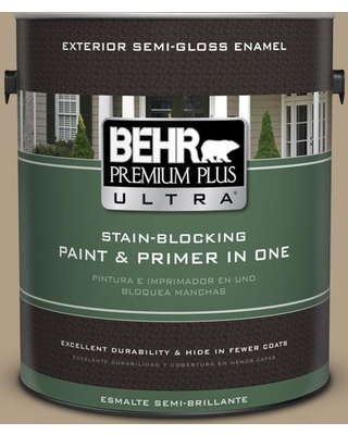 Amazing Deal On Behr Ultra 1 Gal Ecc 53 2 Wild Rye Semi Gloss Enamel Exterior Paint And Primer In One