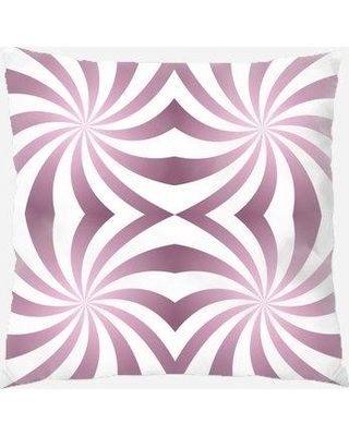 East Urban Home Abstract Throw Pillow W000037104 Location: Indoor