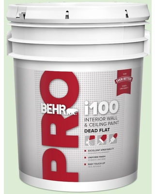 Great Prices For Behr Pro 5 Gal M390 2 Misty Meadow Dead Flat Interior Paint