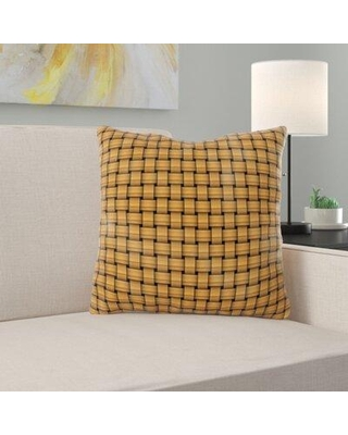 East Urban Home Weave Throw Pillow X111670352 Location: Indoor
