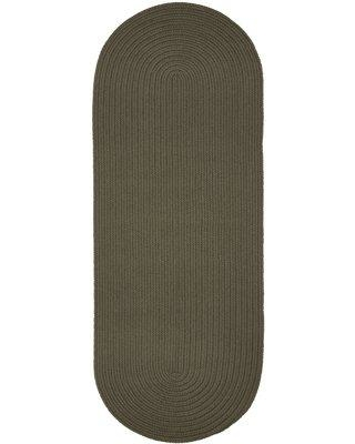 August Grove Smyth Handmade Gray Indoor/Outdoor Area Rug W001689252 Rug Size: Runner 2' x 8'