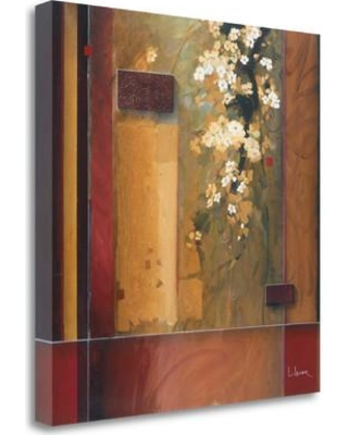 """Tangletown Fine Art 'Summer Bloom' Graphic Art Print on Wrapped Canvas CA308230-2020c Size: 20"""" H x 20"""" W"""