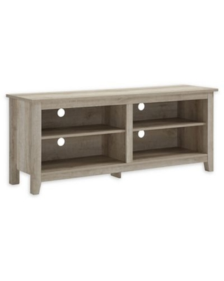 Forest Gate™ Thomas 58-Inch TV Stand in White Oak