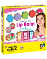 Creativity for Kids Make Your Own Lip Balm - Beginner and Child Craft Kit for Boys and Girls