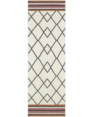 Wrought Studio Marble Falls Ivory Area Rug VKGL7567 Rug Size: Rectangle 2' x 3'