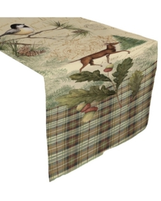 """Laural Home Woodland Forest Table Runner - 13"""" x 90"""""""