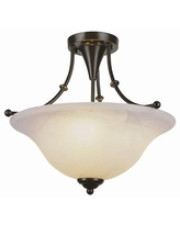 The Best Sales For Olsen 3 Light 18 Simple Bowl Semi Flush Mount Andover Mills Fixture Finish Brushed Nickel