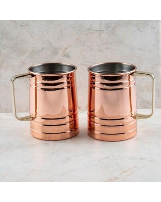 Amazing Sales On Wrought Studio Blithedale 23 Oz Stainless Steel Beer Mug Stainless Steel Size 4 H X 5 W X 3 D Wayfair 53fb6f89de6f4084b1aeeec2c4745afb