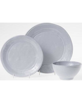 Viva by Vietri Fresh 3 Piece Place Setting Set Service for 1 VFRS-2600S Color: Gray