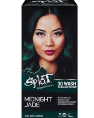 Splat Rebellious Colors 30 Wash Hair Color, Midnight Jade - 1 | CVS