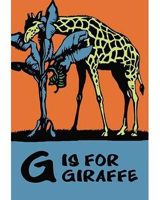 Spectacular Sales For Buyenlarge G Is For Giraffe By Charles Buckles Falls Graphic Art In Brown Blue Orange Size Oversized 41 Wayfair 0 587 12431 8c2842