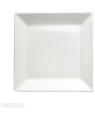 "Sant' Andrea Cromwell Porcelain Square Plates 9.75"" (Set of 12) by Oneida"