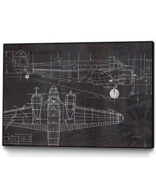 Amazing deal on williston forge plane blueprint framed graphic art williston forge plane blueprint framed graphic art print wlfr6185 size 9 h malvernweather Image collections