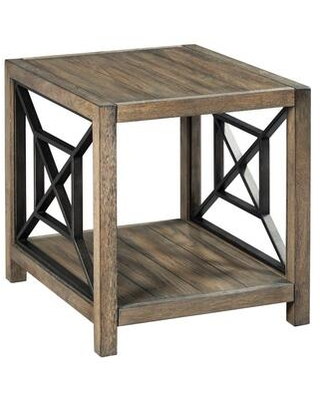 Synthesis-Hamilton Collection 839-915 RECTANGULAR END TABLE in Aged Oak