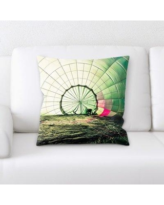 Ebern Designs Laughlin Hot Air Balloon Throw Pillow BF141620