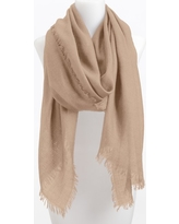 Women's Nordstrom Cashmere & Silk Wrap, Size One Size - Brown