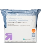 Basic Facial Cleansing Wipes - 50ct - Up&Up (Compare to Neutrogena Makeup Remover)