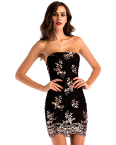 Milanoo Womens Bodycon Dresses Apricot Sleeveless Sequins Casual Backless Lace Up Bodycon Dress Sheath Dress